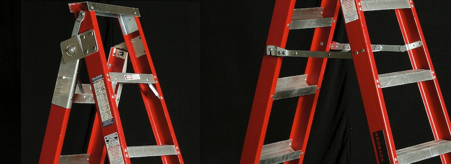 Heavy Duty Fibreglass Platform Ladders